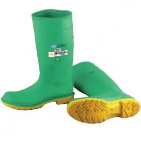 雷克兰绝缘防砸防穿刺87015防化靴的靴筒高度