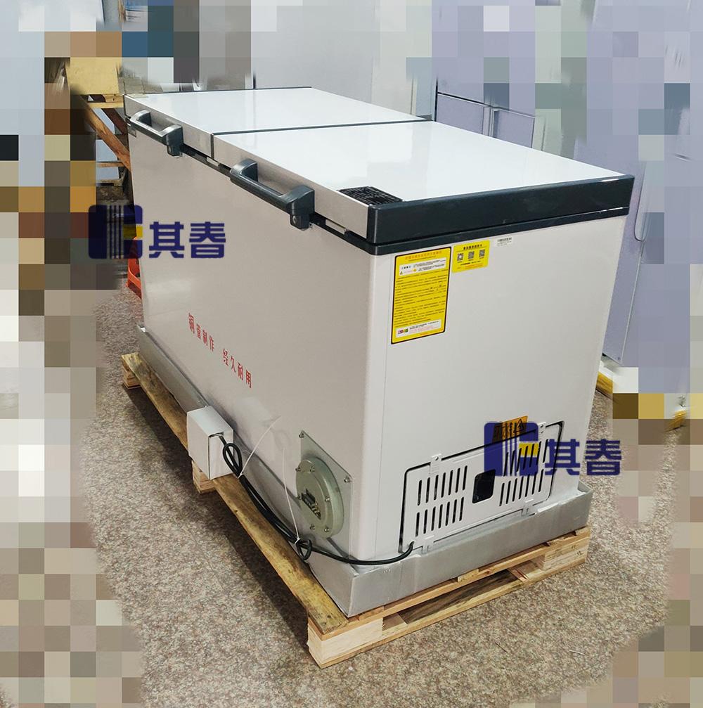 BL-W515其春双门卧式防爆冰箱515L