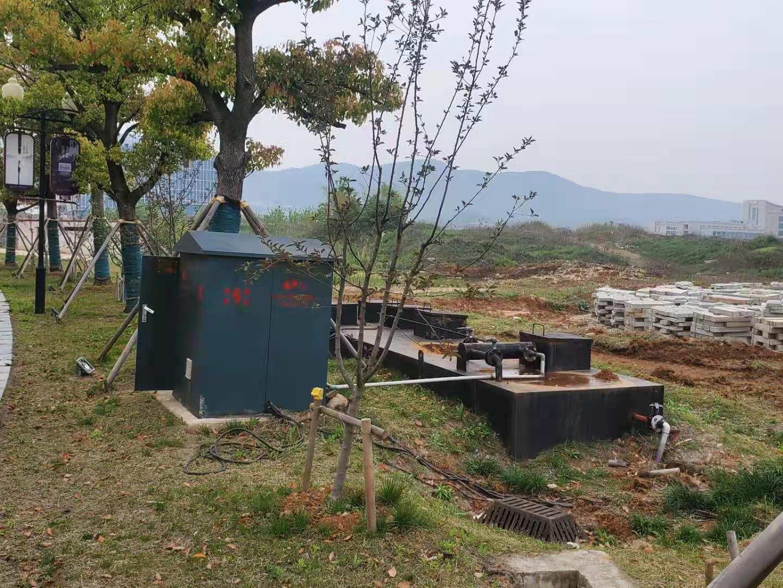 洁夫森地埋式污水处理设备在实际工程中的应用