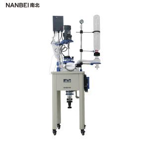实验室仪器设备 10L--200L框架式单层玻璃反应釜